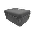 Professional rubber handle portable storage large eva cosmetic case