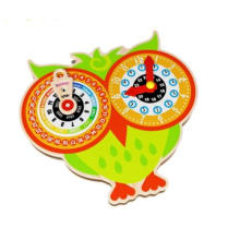 New Fashion Wooden Calendar Clock Toy for Kids and Children