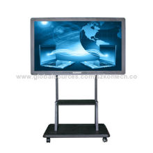 98-inch LED interactive touchscreen whiteboard, movable stand with VESA mount