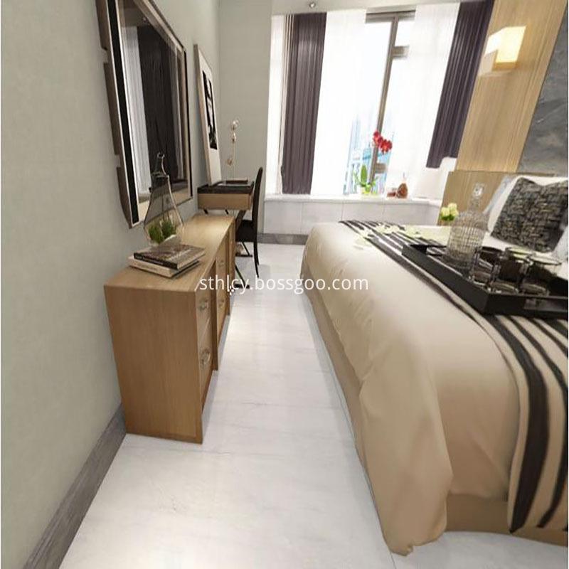 Marble stone bedroom