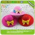 3D Słodkie Cake Shaped Eraser Display Box Opakowania