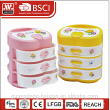 Colorful plastic storage box(4 layer)