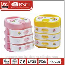 Красочные пластиковые ящиком (4 слоя)