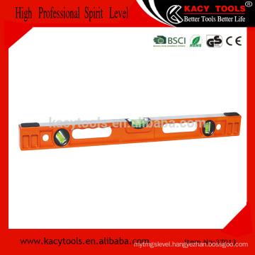 Heavy duty bridge spirit level