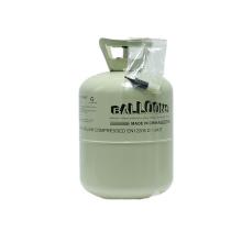 Different Colors CE Certificate 30LB/50LB Welded Steel Helium Bottle