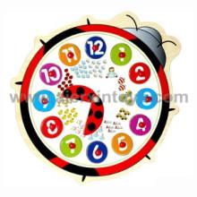Reloj de madera del rompecabezas (81358)