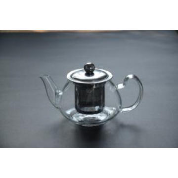 Hot Selling Christmas Gift Wholesale Glass Teapots with Infuser
