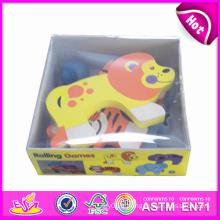 2014 nouveaux enfants animaux en bois dans la boîte, Popualr enfants mignons animaux dans la boîte, beau bébé animaux en bois dans la boîte Puzzle Jeux W13e031