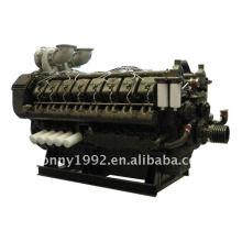 Googol 16 Cylinder Engine Diesel Generator Power 1500kW-2000kW