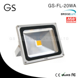 DC12V/24V IP65 20W LED Projector 12V 5 Years Warranty from Jingzhou GS