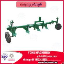 O trator da maquinaria agrícola 80HP Sjh montou o arado de empilhamento