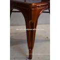 Industrial Metal Chair Antique Copper Finish