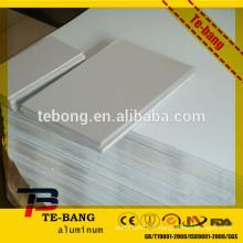 Sublimation Feuille d'aluminium - pour plaque d'immatriculation, panneau de signalisation, plaque signalétique, carte d'information, plaque de photos