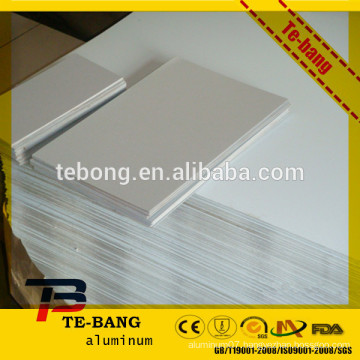 Aluminum sheet base material for sublimation printing usage
