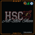 HSC All Star Cheer rhinestone parches