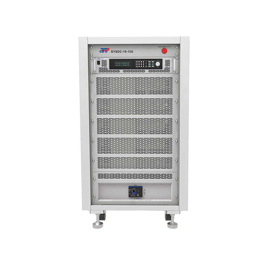 High power high efficiency programmable bench power supply