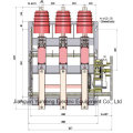 with Manual and Electrical Operation, Indoor Hv Vacuum Load Break Switch-Fzn25-12D/T630-20