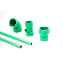 PPR Low Processing Cost Ppr Pipe Plastic Fittings