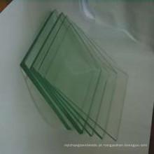 Claro / cor espelho reflexivo vidro / chuveiro quarto de vidro