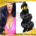5A Erstklassige 100% rohe Jungfrau unverarbeitete super x Geflecht Haar