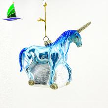New Design Glass Unicorn Ornament