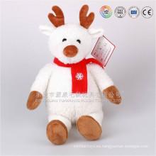 Juguetes calientes personalizados auditados por ICTI para Navidad 2016, renos de peluche de Navidad en Dongguan, Guangdong, China