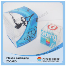 Caixa de presentes clara pequena do animal de estimação / PVC / PP