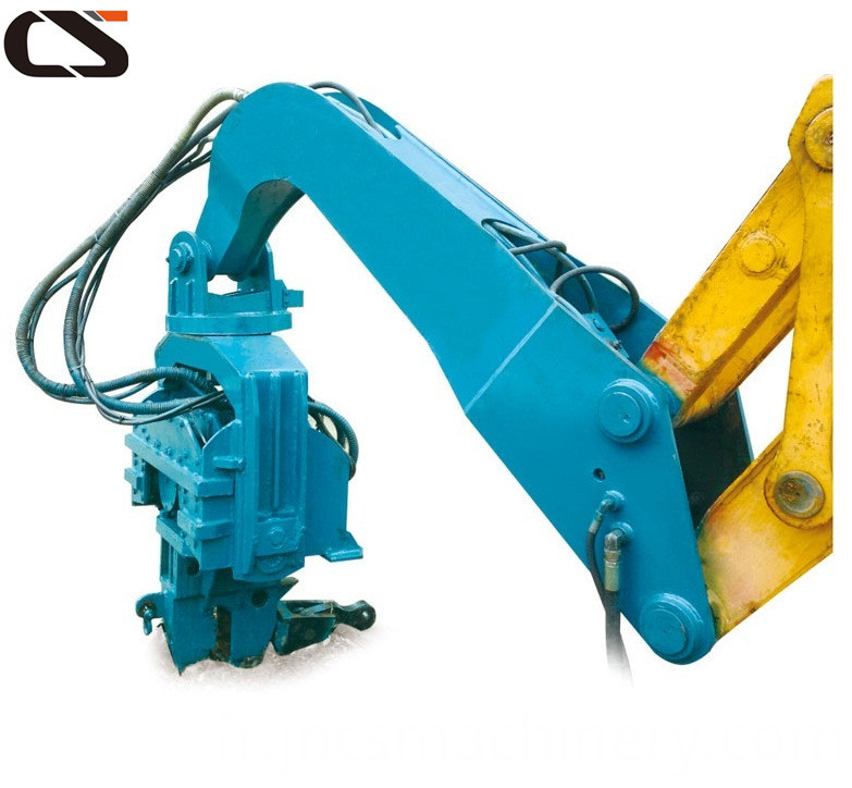 Mounted Driver Hydraulic Drilling Hammer
