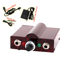 Red LED Mini Tattoo Power Supply
