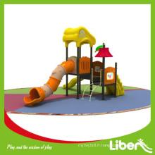 Hot-Sale Outdoor Kids Plastic Playground Matériel sportif pour centre de jeu préscolaire LE.YG.049