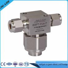 Filtros tipo T de alta pressão SS 316 de 6000 psi