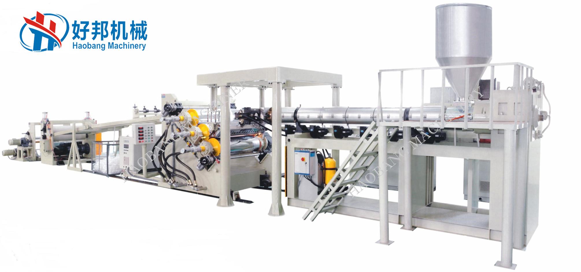 ABS PC GPPS HIPS sheet machine