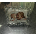 Pattern Border glass Picture Photo Frame For Home