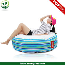 Blue stripes neat & concise big beanbag bed