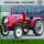 High Performance Agriculture Farm Tractor in Red Color