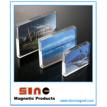 Acrílico Magnetic Photo Frame / Desktop Decoração