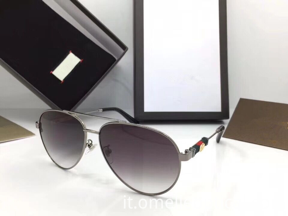 Grey Cat Eye Sunglasses