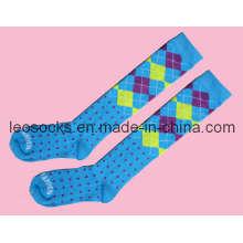 Frauen / Damen Baumwoll Lange Socken (DL-SKT-16)
