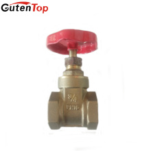 Guten Top DN20 full port iron handlewheel brass gate valve
