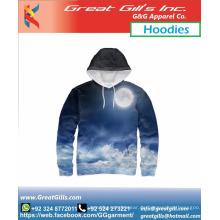 Sublimierte Fitness-Sportmode-Hoodies für Männer und Frauen