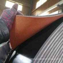 Antistatic 1000mm Belt Width Rubber Polyester Fabric Conveyor Belt