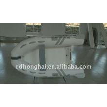 rib270 ce de fibra de vidrio rígido barco con motor de 10hp