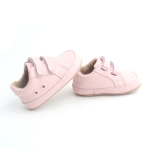 Nya Dubbelband Rosa Baby Girl Casual Shoes
