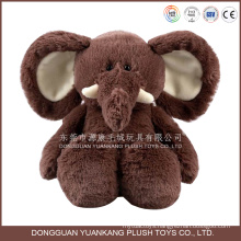 ISO9001 audited factory stuffed elephant plush toy wholesale elephant doll