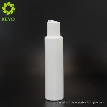 Designer PLAcosmetic lotion cream liquid bottle with flip cap