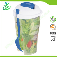 Food Grade Salat Shaker Cup für Salat und Obst
