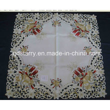Xmas Candle Tablecloth St1741