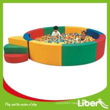 Aire de jeux intérieure pour enfants de la série soft play LE.QC.018 Quality Assured