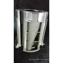 Fundición de aluminio de la gravedad del OEM para el mini generador