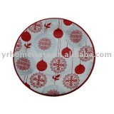 Printed paper dish (Color paper plate)